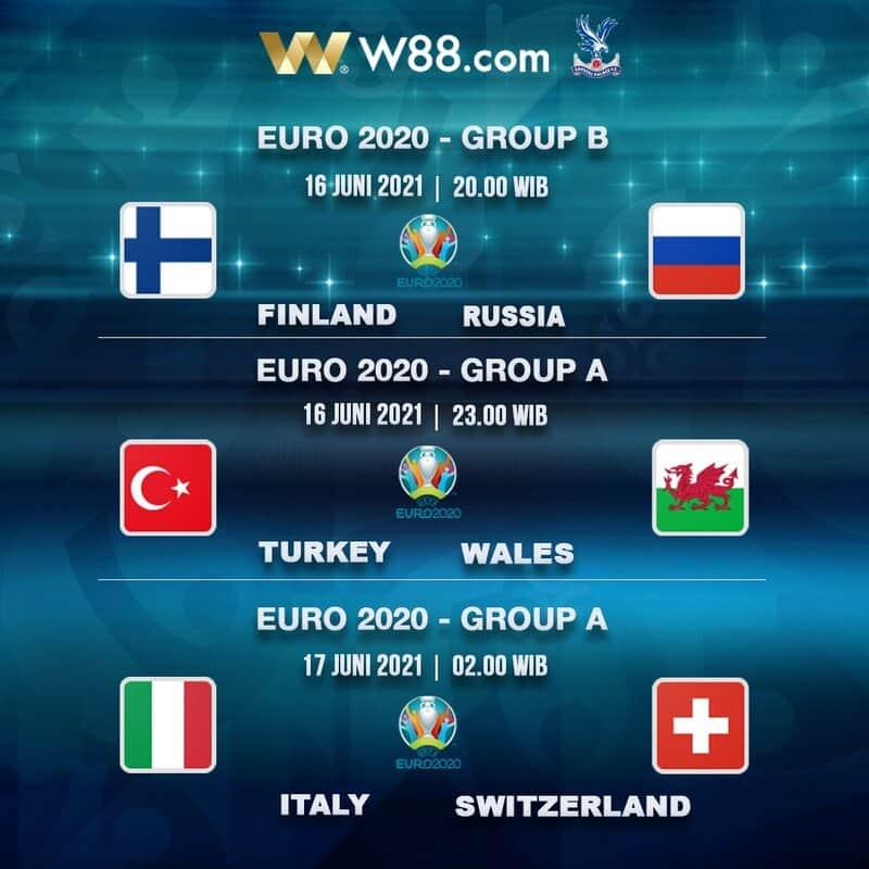จัดเต็มกับการแข่งขัน Euro 2020 กับ เว็บพนันบอลที่ใหญ่ที่สุดในเอเชีย